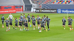 Die Nationalmannschaft testet vor der Euro
