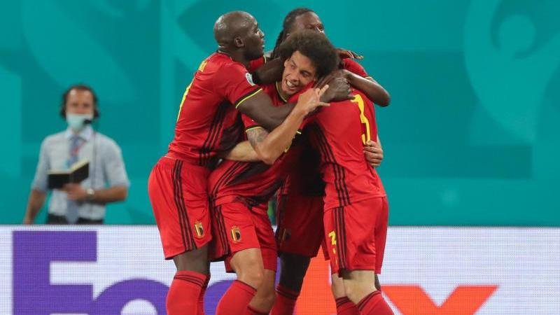 Die belgische Mannschaft zeigt sich bei der EM bisher in starker Form