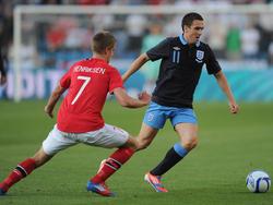England testet gegen Norwegen
