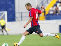 Andreas Lasnik ist bislang ein fixer Bestandteil von Panionios