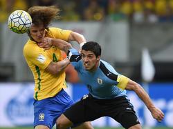 David Luiz será baja por tarjetas tras el partido ante Uruguay. (Foto: Getty)