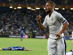Italia sentenció con una jugada de pizarra con el gol de Immobile. (Foto: Getty)