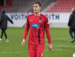 Heidenheims Oliver Steurer fehlt seiner Mannschaft mehrere Wochen