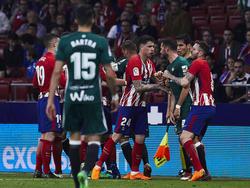 El Atlético acumuló su segundo encuentro liguero consecutivo sin ganar. (Foto: Getty)