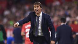 Julen Lopetegui kassierte mit Real Madrid eine überraschende Pleite