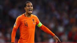 Virgil van Dijk fehlt Oranje am Dienstag