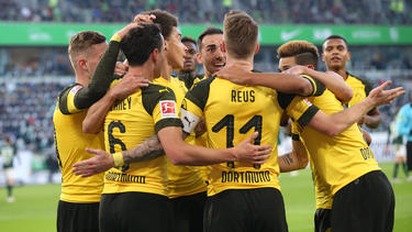 El capitán del Dortmund Marco Reus marcó el gol decisivo. (Foto: Getty)