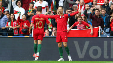 Cristiano Ronaldo brillierte gegen die Schweiz