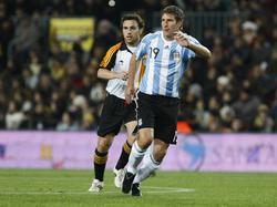 Insgesamt lief Martín Palermo 15 Mal für Argentinien auf