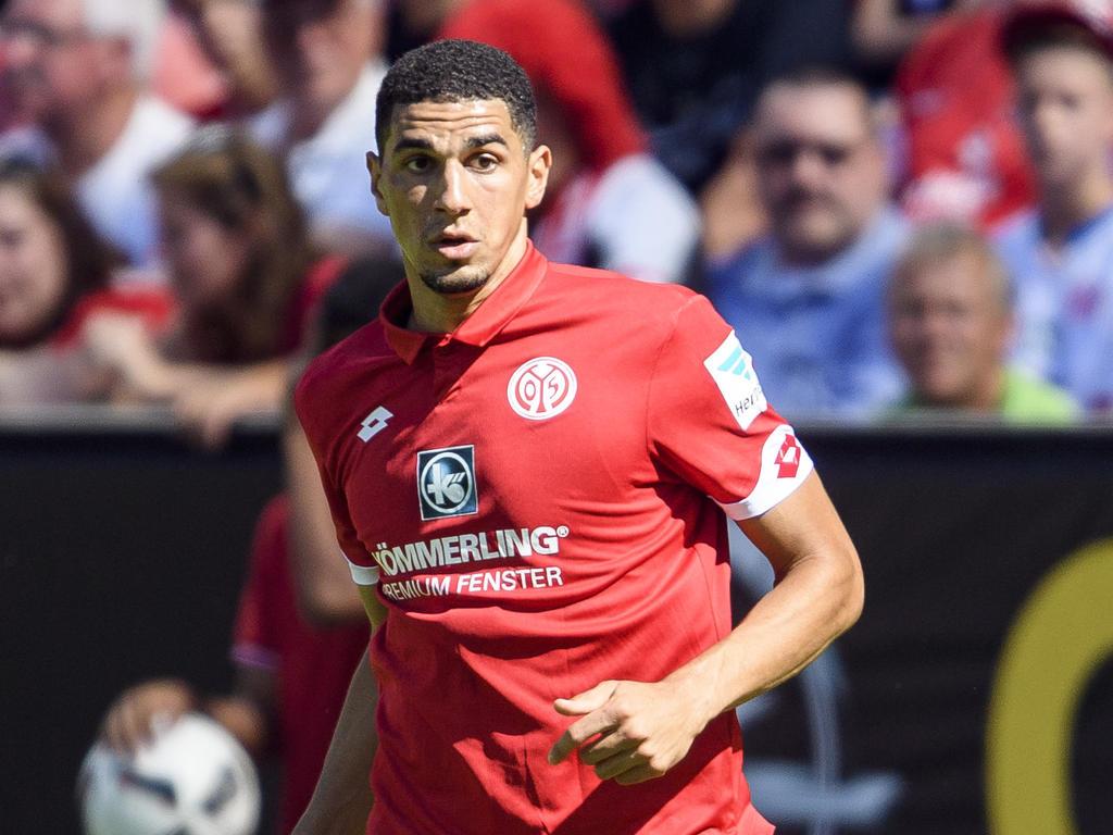 Zog sich einen Mittelhandbruch zu: Leon Balogun von Mainz 05