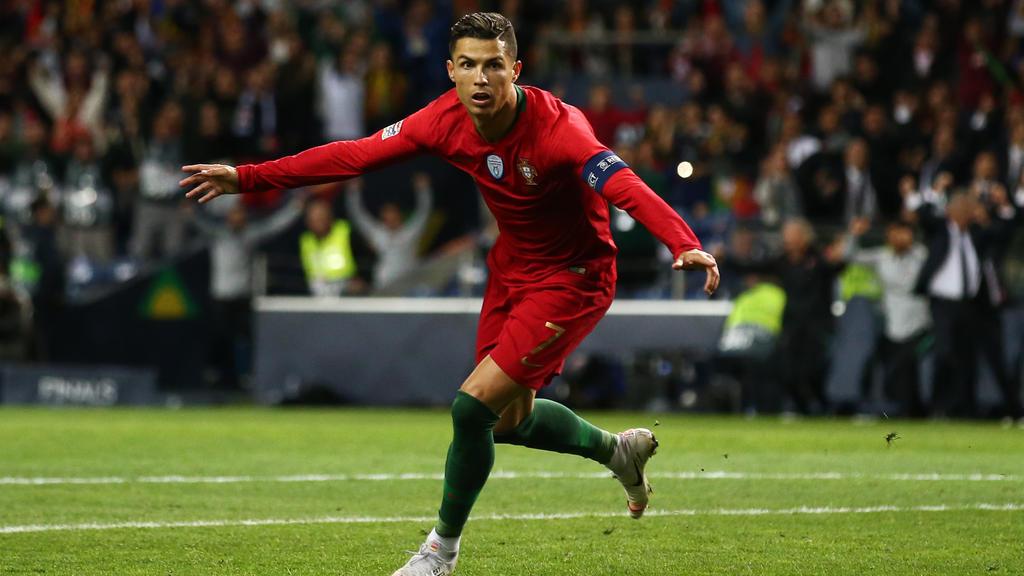 Cristiano Ronaldo ist der portugiesische Rekord-Nationalspieler