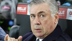 Beabsichtigt nicht, als Trainer vom SSC Neapel zurückzutreten: Carlo Ancelotti