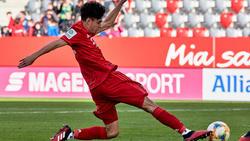 Lucas Copado wird zum ersten Mal für die Bayern-Profis spielen