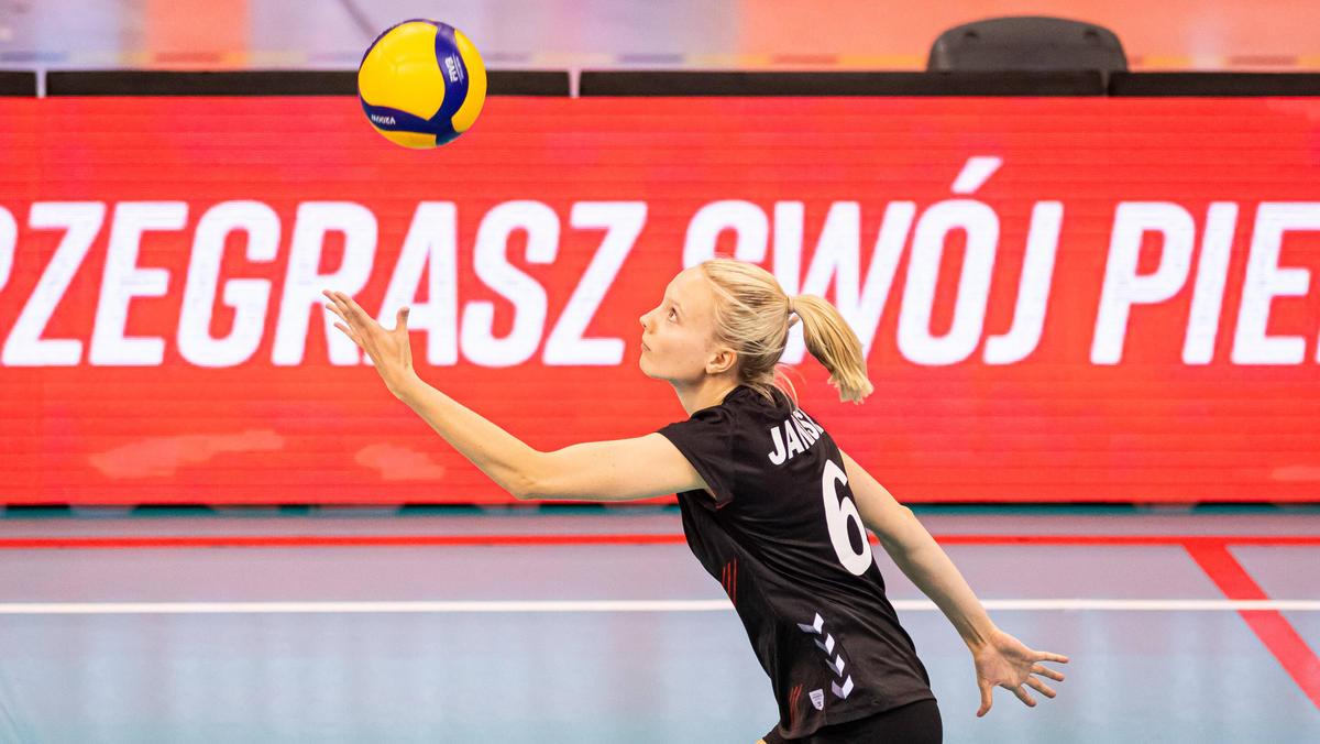 Die deutsche Volleyballerinnen um Jennifer Janiska gewannen ein umkämpftes Spiel