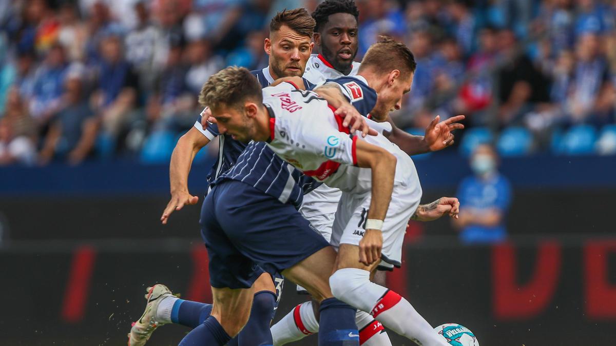 Kein Sieger im Duell VfL Bochum gegen den VfB Stuttgart