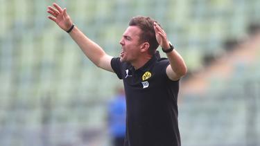 Enrico Maaßen trainiert die U23 des BVB