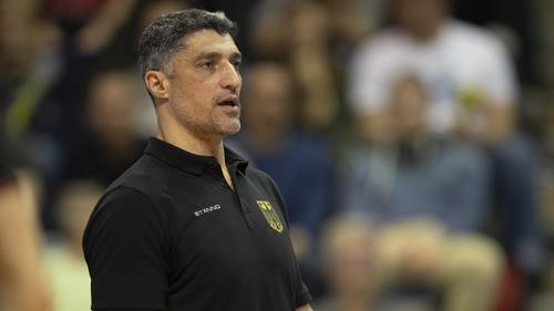 Andrea Giani will mit den deutschen Volleyballern zu den Olympischen Spielen