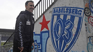 Babelsberg-Coach Uzelac Predrag konnte sich über einen Heimsieg freuen