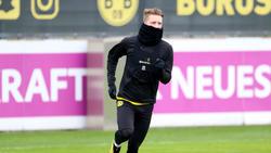 BVB-Star Marco Reus trainiert individuell