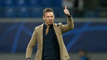 Trainer Julian Nagelsmann von RB Leipzig