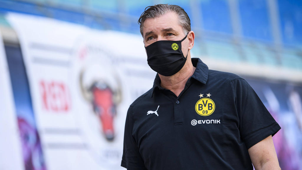 Michael Zorc war mit dem Auftritt der BVB-Profis gegen Hoffenheim alles andere als zufrieden