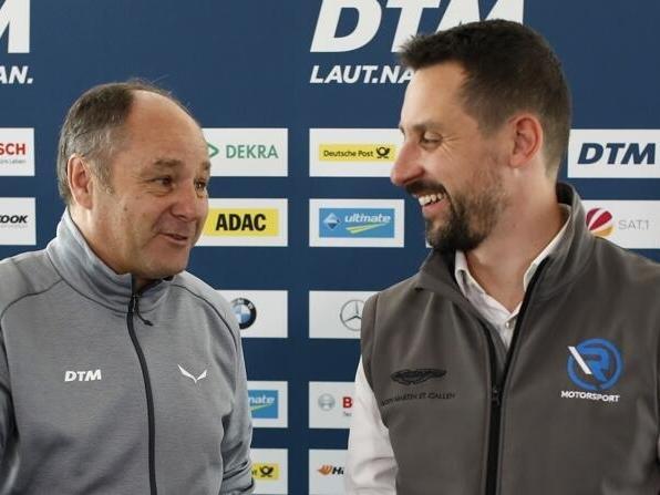 Dicke Luft zwischen Gerhard Berger und R-Motorsport-Teamchef Kamelger