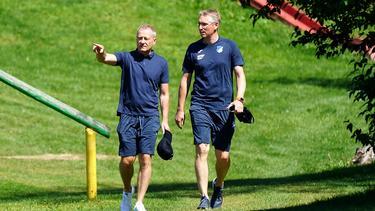 Frank Briel (r.) ist nicht gut auf den FC Bayern zu sprechen