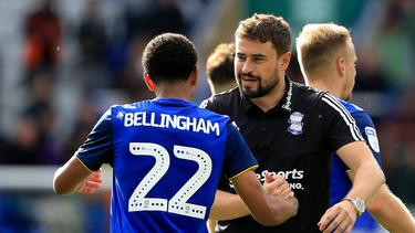 Arbeiteten in Birmingham zusammen: BVB-Neuzugang Bellingham und Teammanager Clotet