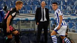Real-Coach Zinédine Zidane beobachtete einen schwachen Start seiner Königlichen