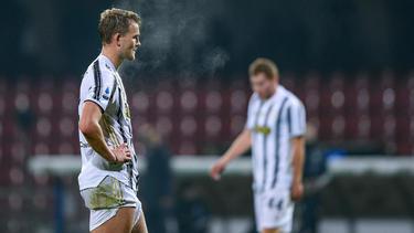 Juventus verspielte erneut wichtige Punkte