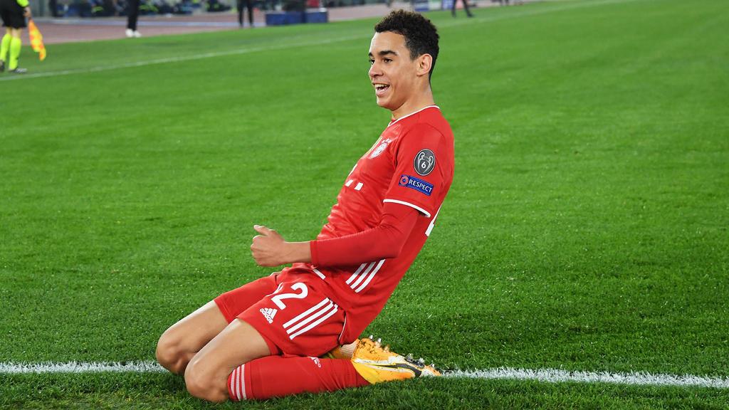 Jamal Musiala glänzte beim Sieg des FC Bayern