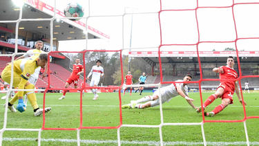 Union Berlin setzte sich gegen den VfB Stuttgart durch