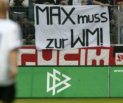 Deutsche Fans fordern Max