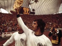 Gerd Müller, delantero legendario de la selección de Alemania en los 70. (Foto: Imago)