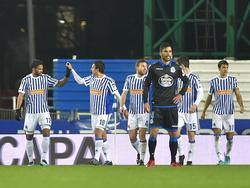 Real Sociedad auf der Stadion-Baustelle