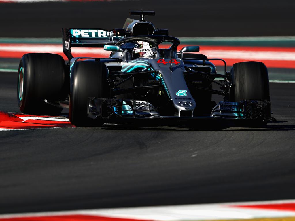 Lewis Hamilton interessierte sich am Ende des Tages nicht für eine Zeiten