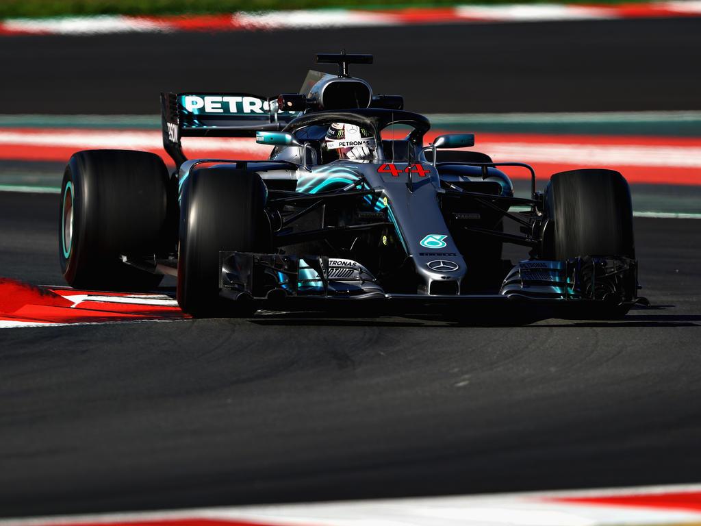 Lewis Hamilton zeigte sich nach den Testfahrten in Barcelona zufrieden mit seinem Boliden
