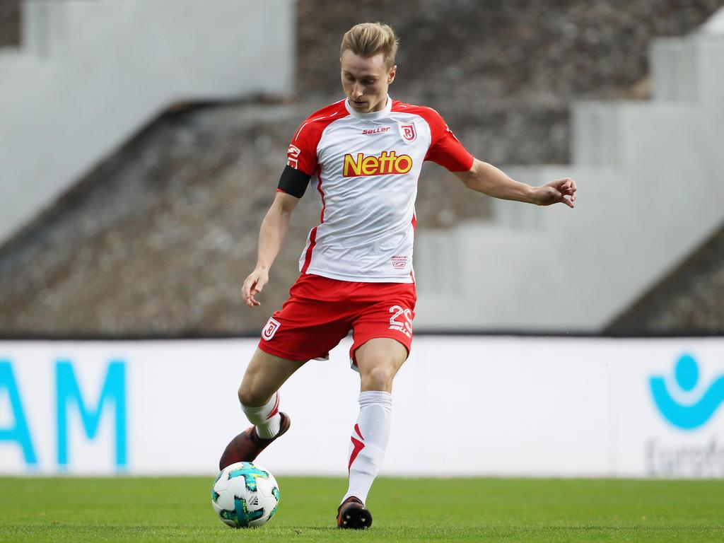 Joshua Mees hat Jahn Regensburg auf die Siegerstraße gebracht