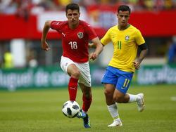 Brasilien war den Österreichern klar überlegen