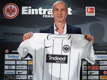 Erster Sieg für Eintracht-Coach Adi Hütter