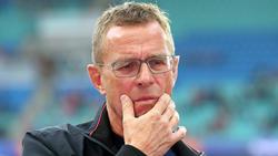 Ralf Rangnick schaffte mit Leipzig gegen Düsseldorf nur ein Unentschieden