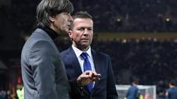 Lothar Matthäus (re.) hat sich zum Abschneiden des DFB-Teams in der Nations League geäußert