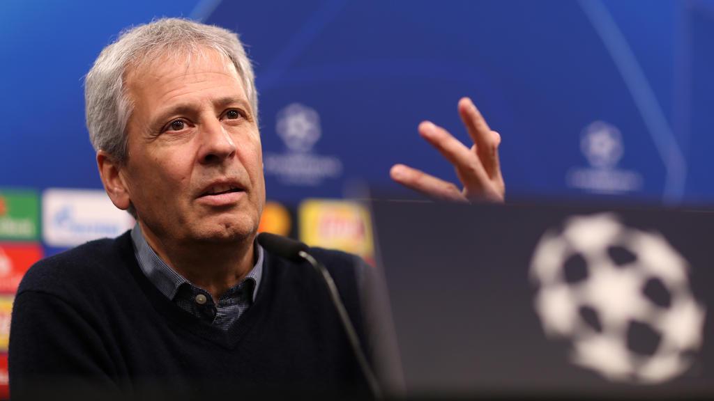 BVB-Coach Lucien Favre muss auf zahlreiche Stammspieler verzichten