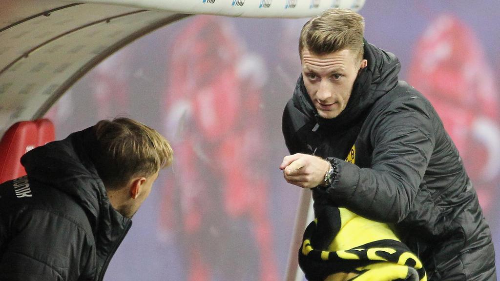 Marco Reus wird dem BVB wohl in der Champions League fehlen