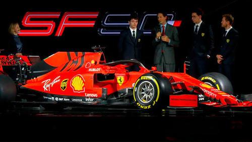 Ferrari präsentierte am Freitag seinen neuen Boliden
