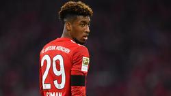 Kingsley Coman verletzte sich in Augsburg am Sprunggelenk