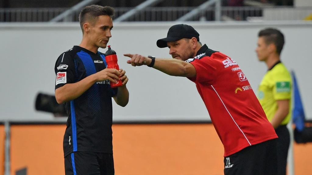 Philipp Klement (l.) ist nach seiner starken Saison heiß umworben