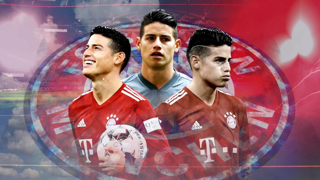 James Rodríguez steht beim FC Bayern vor einer ungewissen Zukunft