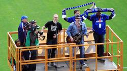 Jahrelang gehörte Lotto King Karl bei den HSV-Heimspielen zum festen Programm