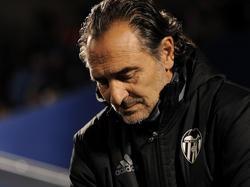 Cesare Prandelli ist als Trainer des FC Valencia zurückgetreten